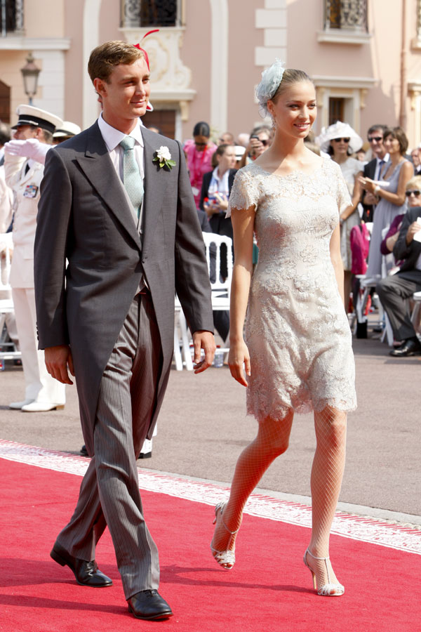 MONACO ROYAL WEDDING 2015: Pierre Casiraghi and Beatrice Borromeo