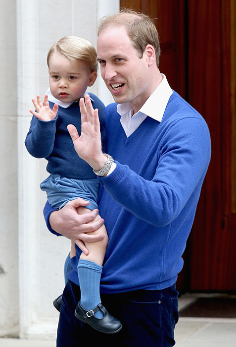 ROYAL BABY: Prince George of Cambridge arrives to meet his baby sister