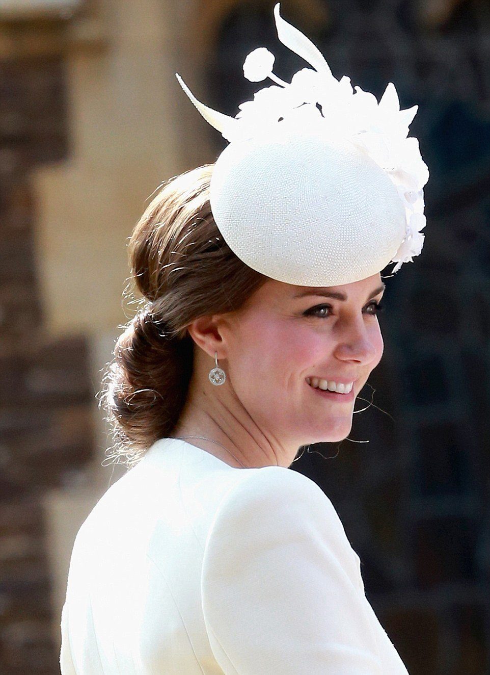 ROYAL PHOTOS: Kate Middleton at her daughter's Princess Charlotte's christening July 2015