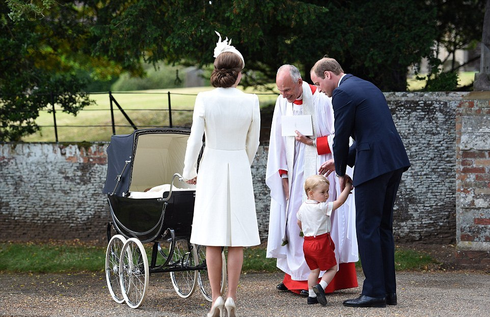 PHOTOS: Princess Charlotte christening at St Mary Magdalene Church in Norfolk