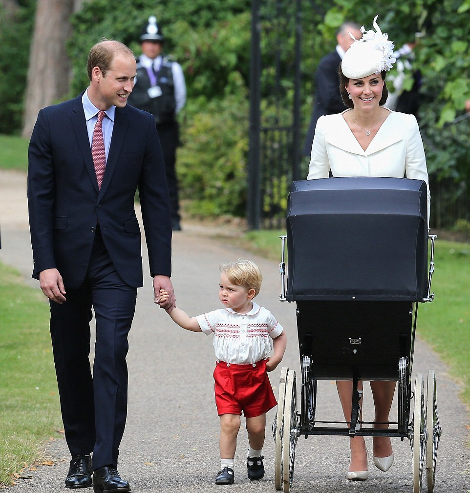 PHOTOS JULY 2015: Princess Charlotte of Cambridge christening in England