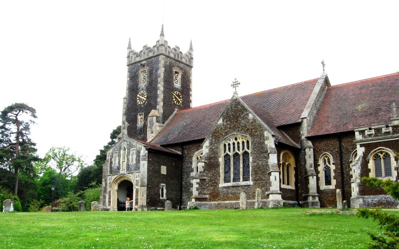 PRINCESS CHARLOTTE CHRISTENING LOCATION The church of St Mary Magdalen in Norfolk