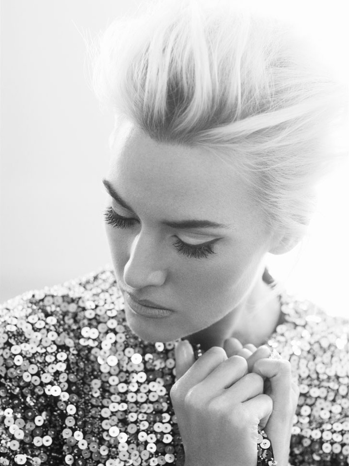 FASHION EDITORIAL: Kate Winslet by Alexi Lubomirski for Harper's Bazaar UK April 2013