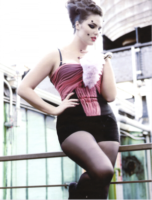 c56-Designer clothes for larger girls -  luscious plus sized model via Runway Revolution.png