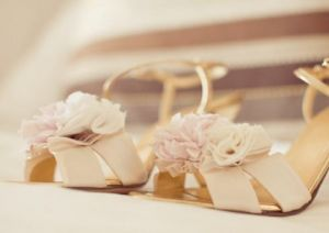 Celebrity closet ideas - Pale pink flowery sandals.JPG