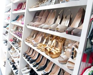 Celebrity closet ideas - luscious shoes on shelves.jpg