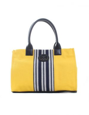 Tory Burch Small Center Stripe Ella Tote - yellow.jpg