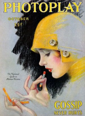 Photos of art deco vintage drawing - 1920s lipstick.jpg