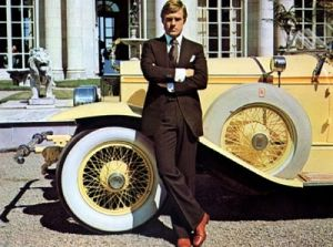 Historical fashion pictures - Flapper fashion - 1920s gatsby redford car.jpg
