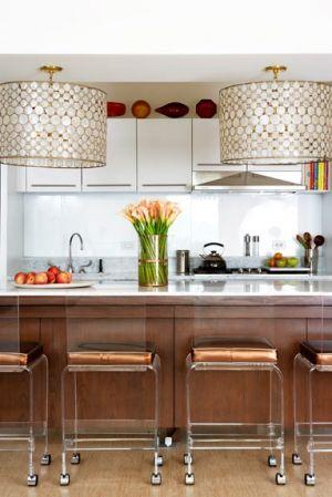 Kitchen Pendant Lighting Ideas on Stylish Home  Kitchens     Part 2