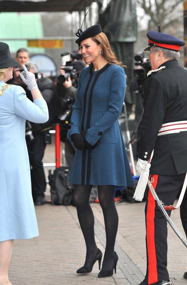 Pics of Kate Middleton - ladylike dresses - Kate-Middleton-Pregnant