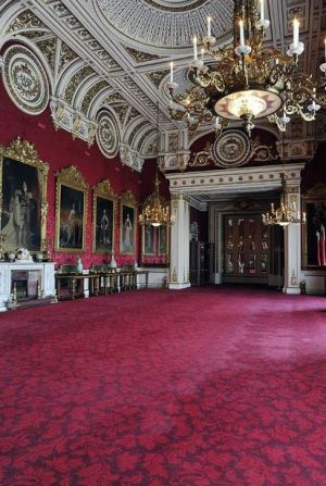 Buckingham Palace State Dining Room will be used for the wedding reception.JPG