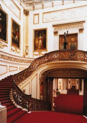Images - wedding of prince william and kate - London-Buckingham-Palace-Grand-Staircase.jpg