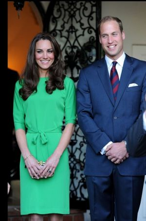 The Duke and Duchess of Cambridge Consul General Reception