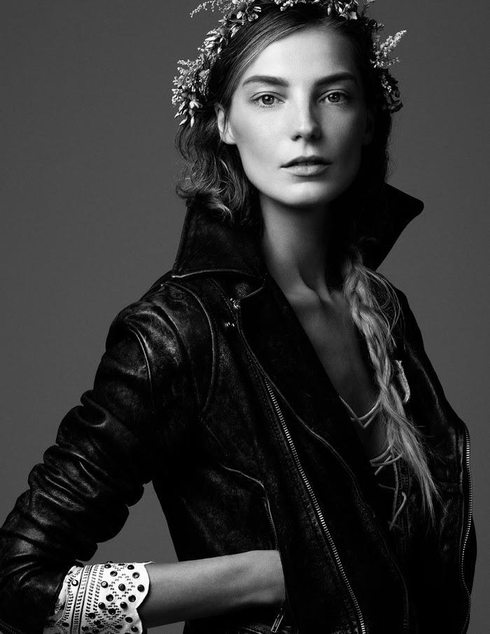 Daria Werbowy Ireland Daria Werbowy For Vogue