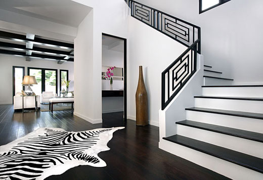 Pictures Of Black And White Design Black And White Interiors Via