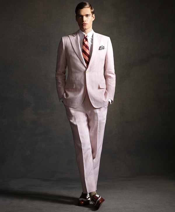 Great Gatsby Inspired Menswear Collection by Brooks ... |The Great Gatsby Fashion Men