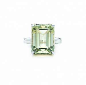 Tiffany Sparklers praseolite cocktail ring in sterling silver - The Great Gatsby collection.PNG