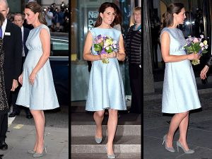 kate-middleton maternity dress - Emilia Wickstead pale blue silk blend full skirted summer dress cocktail gown.jpg