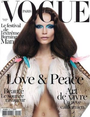 Vogue magazine covers - mylusciouslife.com - November_2010_French_Vogue_Cover_model_Natasha_Poly.jpg