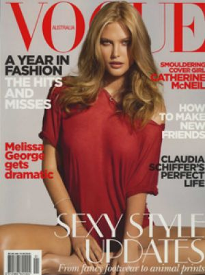 Vogue magazine covers - mylusciouslife.com - Vogue Australia January 2010.jpg