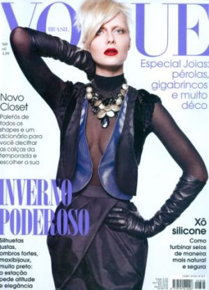 Vogue magazine covers - mylusciouslife.com - Vogue Brazil - April 2009 - Ana Claudia Michels.jpg