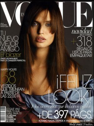 Vogue magazine covers - mylusciouslife.com - Vogue Espana December 2007 - Bianca Balti.jpg