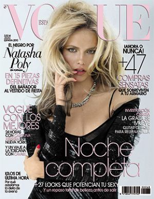 Vogue magazine covers - mylusciouslife.com - Vogue Espana July 2010 - Natasha Poly.jpg