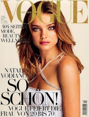 Vogue magazine covers - mylusciouslife.com - Vogue Germany October 2005 - Natalia V.jpg