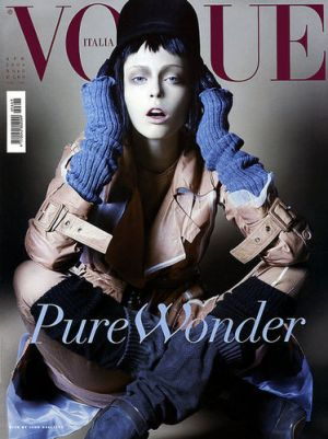 Vogue magazine covers - mylusciouslife.com - Vogue Italia April 2006 - Coco Rocha.jpg