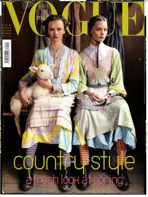 Vogue magazine covers - mylusciouslife.com - Vogue Italia February 2008.jpg