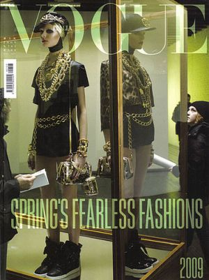 Vogue magazine covers - mylusciouslife.com - Vogue Italia March 2009.jpg