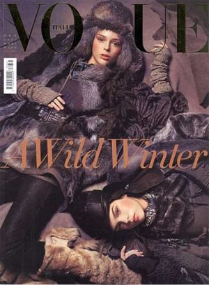 Vogue magazine covers - mylusciouslife.com - Vogue Italia November 2007.jpg