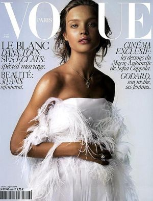Vogue magazine covers - mylusciouslife.com - Vogue Paris April 2006.jpg