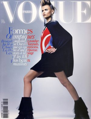 Vogue magazine covers - mylusciouslife.com - Vogue Paris June July 2004 - Natasha Poly.jpg