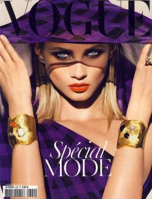 Vogue magazine covers - mylusciouslife.com - Vogue Paris September 2008.jpg