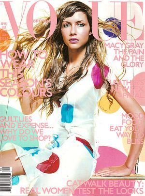Vogue magazine covers - mylusciouslife.com - Vogue UK April 2000.jpg