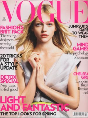 Vogue magazine covers - mylusciouslife.com - Vogue UK February 2008.jpg