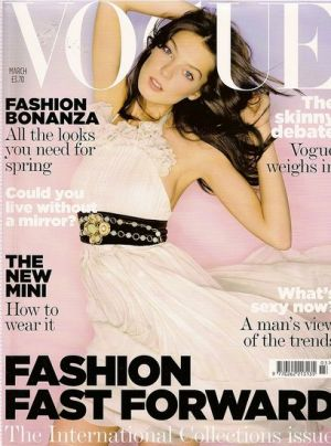 Vogue magazine covers - mylusciouslife.com - Vogue UK March 2007.jpg