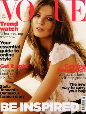 Vogue magazine covers - mylusciouslife.com - Vogue UK May 2009 - Daria Werbowy.jpg