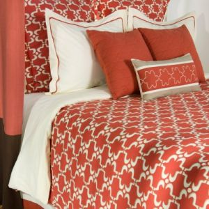 home living - Rizzy Rugs Taza Duvet Set - coral tangerine orange.jpg