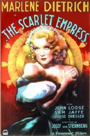 Movies about royalty - The Scarlet Empress 1934.jpg