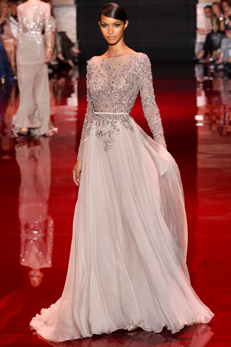 Runway elie saab fall 2013 haute couture collection for Haute couture collection
