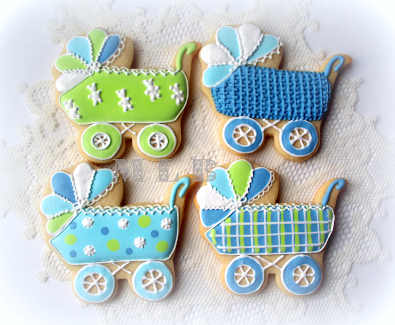 baby boy cookies for a baby shower jpg