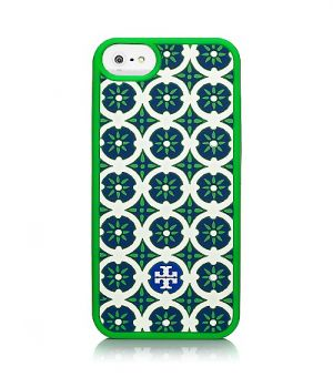 Tory Burch Halland Silicone Case For Iphone 5 green.jpg