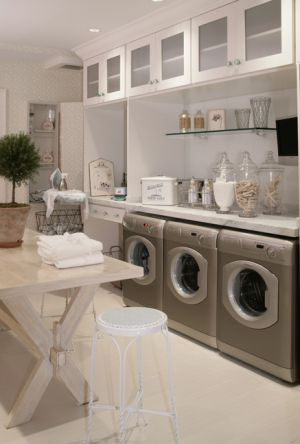 Laundry rooms and mudrooms - mylusciouslife.com - Laundry