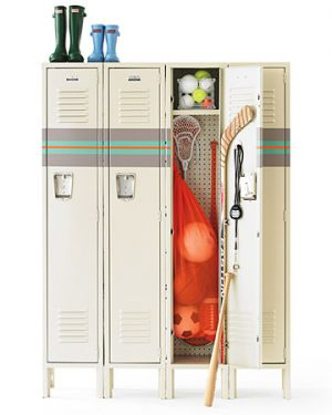 Home organisation ideas - mylusciouslife.com - Martha organizer-locker.jpg