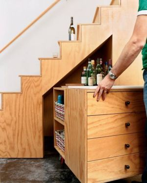 Home organisation ideas - mylusciouslife.com - via freshome.com stair storage ideas9.jpg