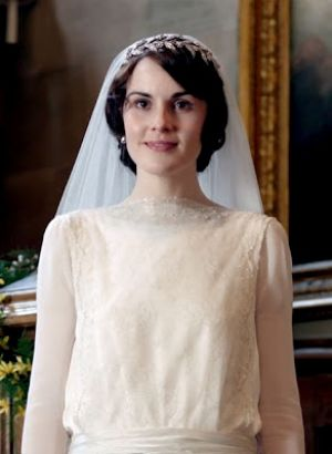 Downton Abbey - www.myLusciousLife.com - Mary wedding dress.jpg