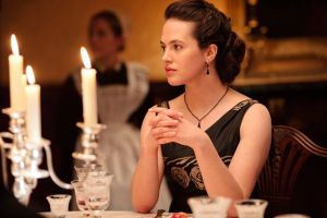 Downton Abbey - www.myLusciousLife.com - downton 2 lady sybil at dinner.jpg